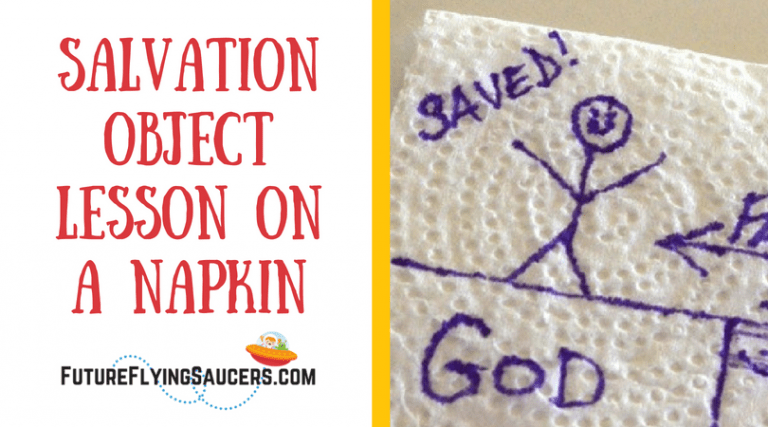 Salvation Object Lesson on a Napkin
