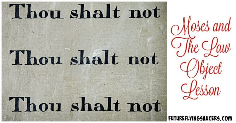ten commandments object lessons