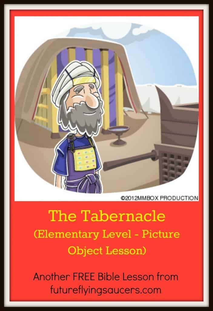 Tabernacle picture object lesson