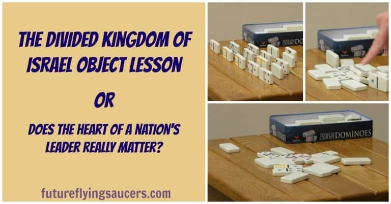 divided kingdom object lesson