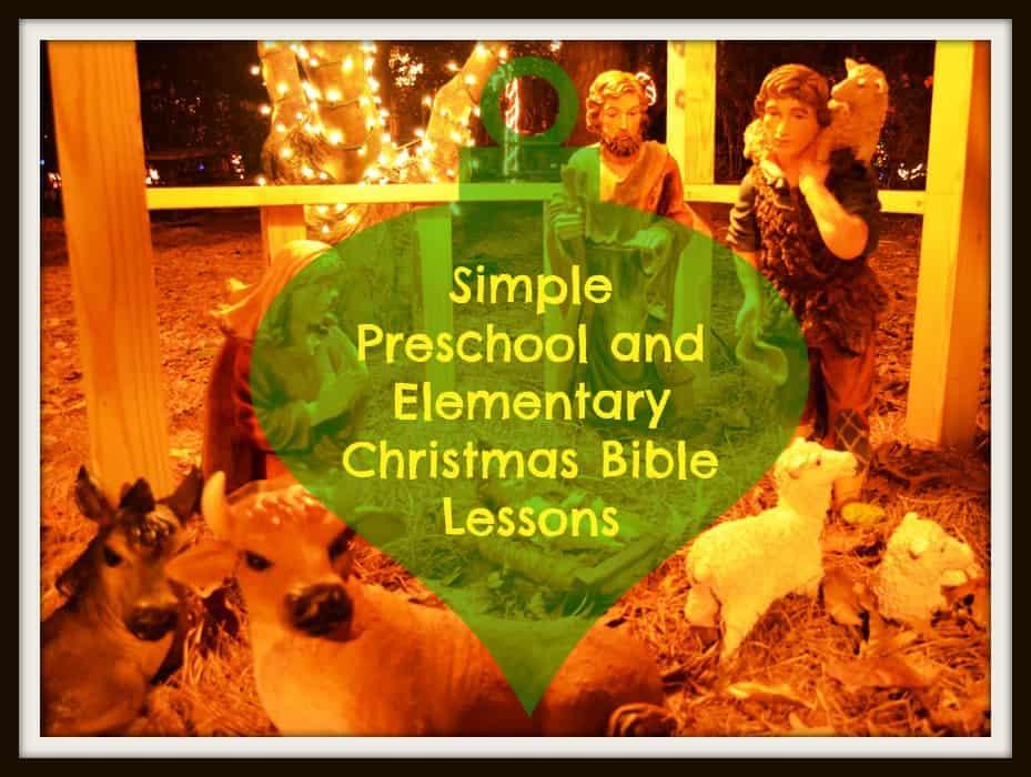 Christmas Bible Lessons