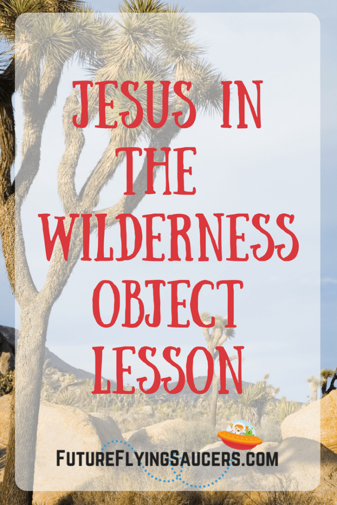 This fun Jesus in the Wilderness Object Lesson uses candy to discuss the difference between temptation and sin, and how to battle the enemy.