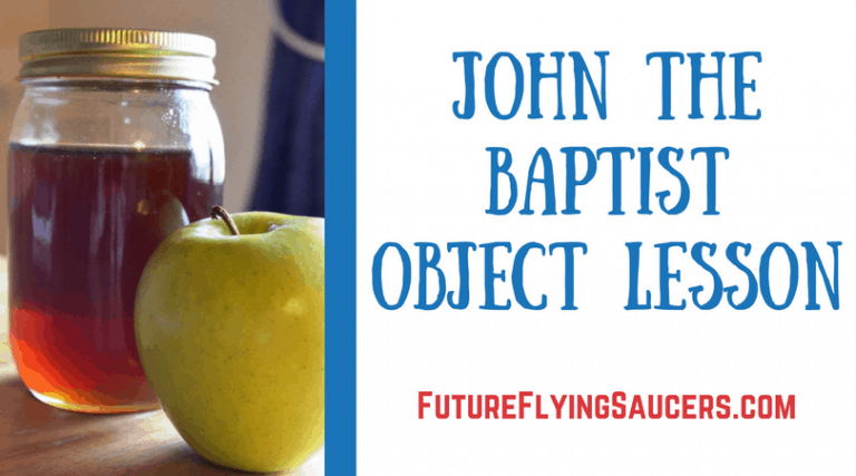 In this John the Baptist Object Lesson you will discuss repentance and what fruit the Lord wants to produce in those who choose to follow Him.
