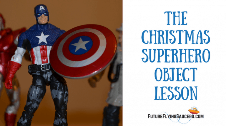Use this Christmas Superhero Object lesson to discuss different ypes of heroes and how Jesus is the One True Hero.