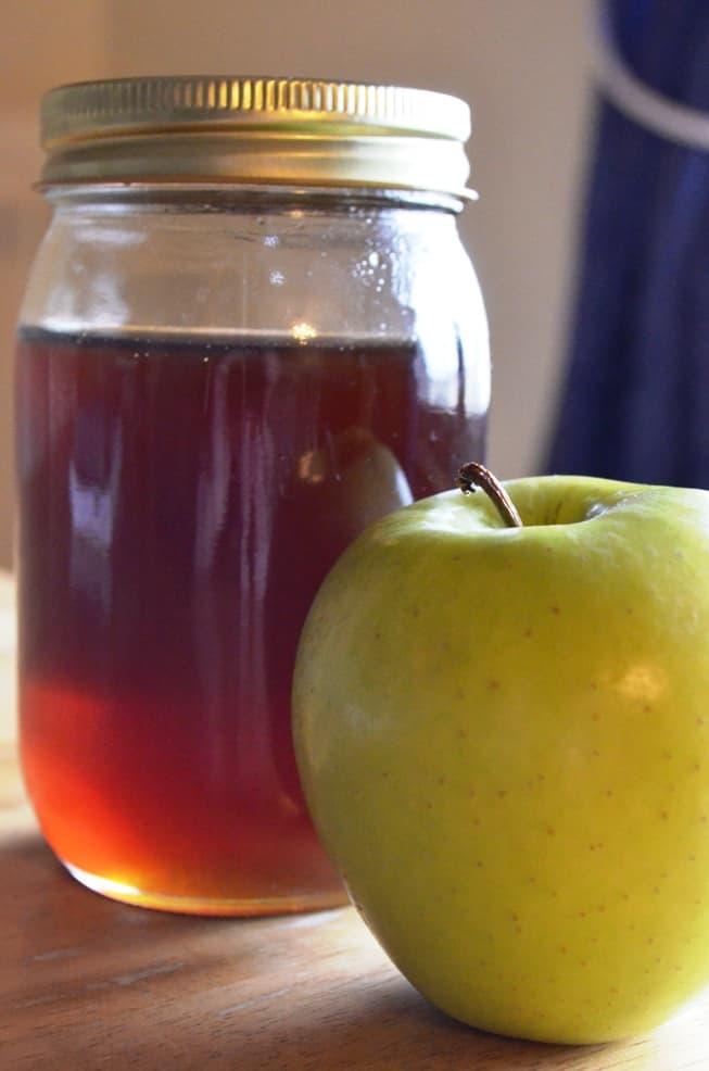 honey and fruit