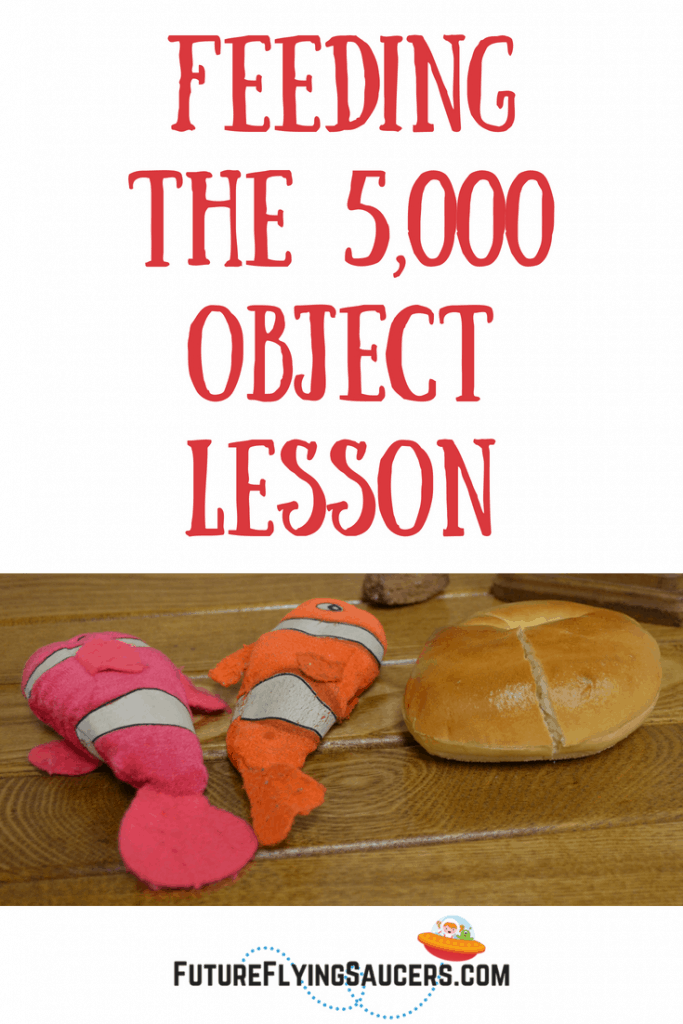 Do we ask God for things in prayer because we want to be comfortable? or because we truly want Him to be glorified? Explore this question with children as you discuss this feeding the 5,000 object lesson.