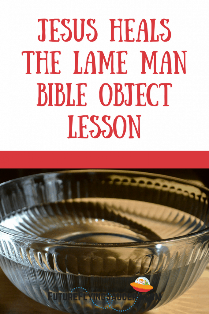 When a person encounters Jesus, either that person can believe He is who He says He is, or not. This Jesus Heals the Lame Man Object Lesson exemplifies this truth. Use a bowl of water to act out the event and discuss what Jesus is saying to us.