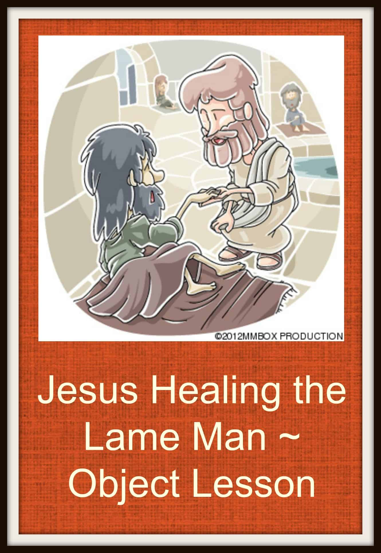 Jesus Healing The Lame Man