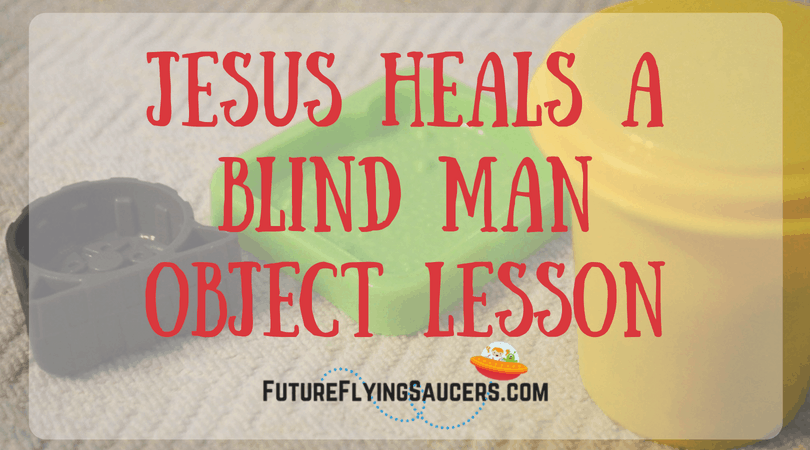 Who is Jesus? This is a very good question. Many in the world have the incorrect answer. Use play dough to teach children about Who Jesus is in this Jesus heals the Blind Man object lesson.