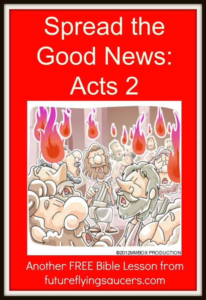 Acts 2 Bible Object Lesson