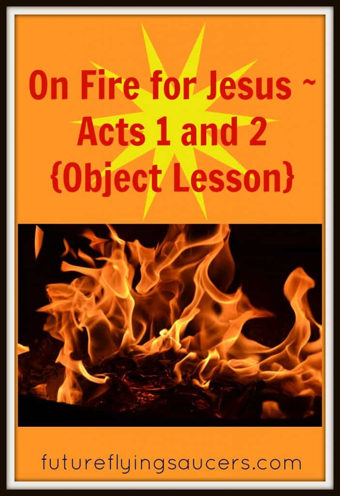 Use a bowl with 1/2 cup of rubbing alcohol, 1/2 cup of water, and 1/4 tsp of salt, fire, and money to teach children about Pentecost. (Acts 1 and 2)