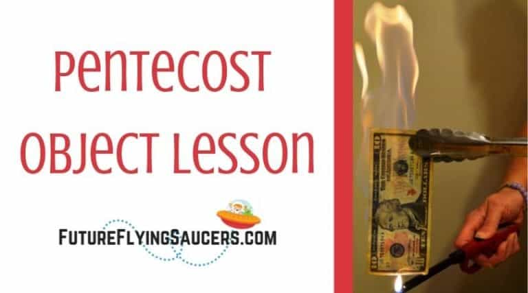 title image for lesson including picture of tongs holding a bill on fire