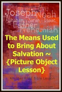 The means used to bring about salvation