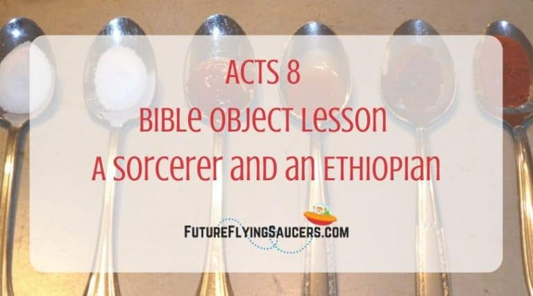 title image for Acts 8 with 6 spoons in the background