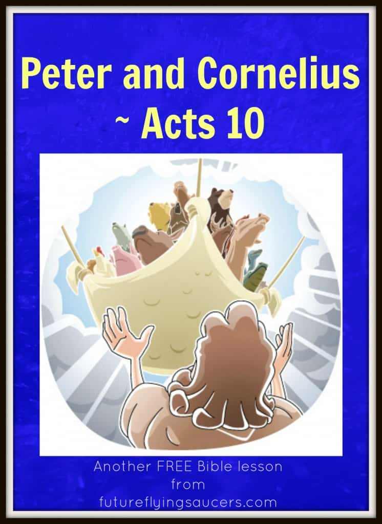 Acts 10 Bible Lesson for Kids