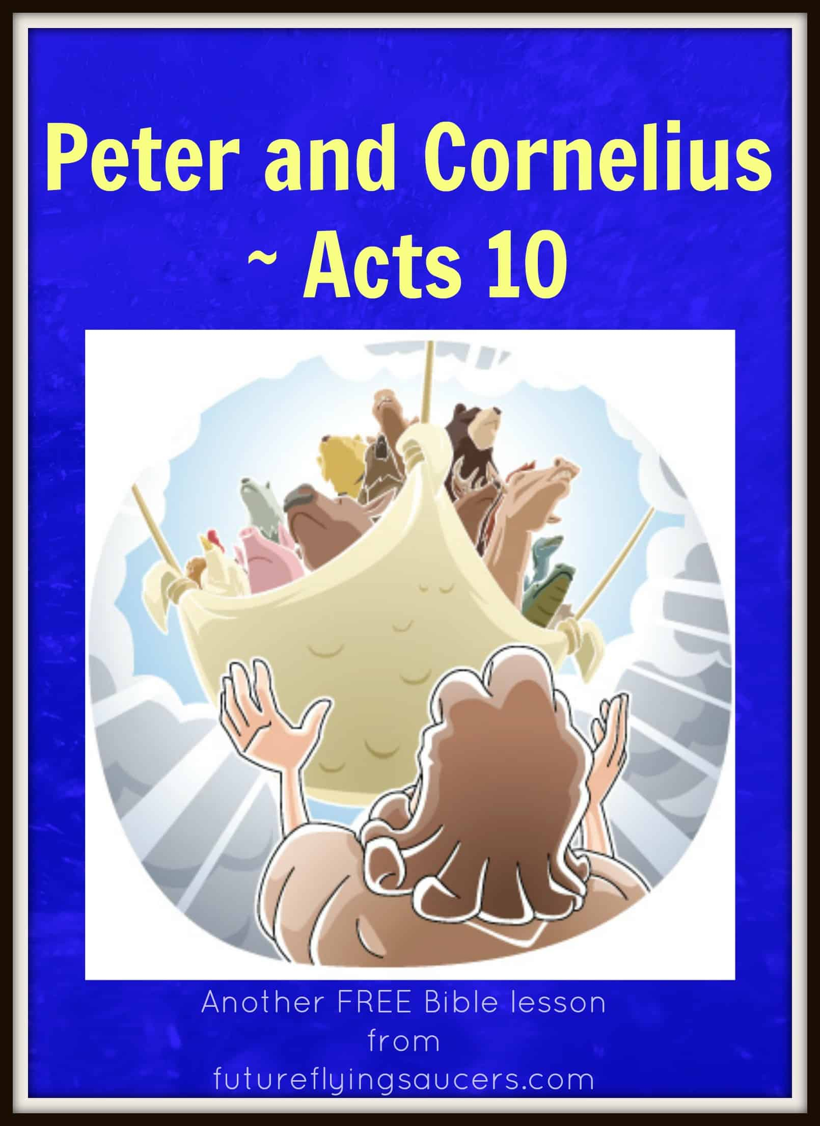 Book of Acts Bible Study for Children's Sunday School