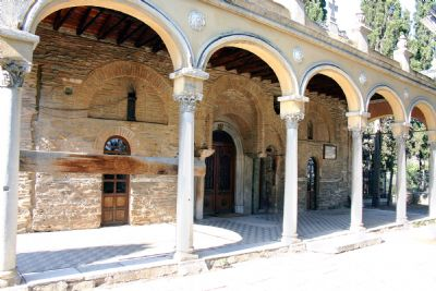 This is the Monastery of Vlatadon and by tradition it is associated with jason's House (Image by www.holylandphotos.org)