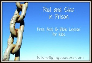 Acts 16 Paul and Silas