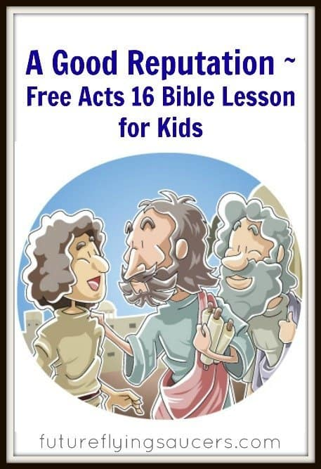 Acts  Lesson For Kids