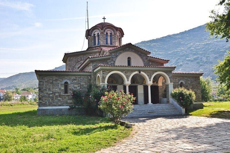 The Church of Lydia. Photo from http://www.holylandphotos.org