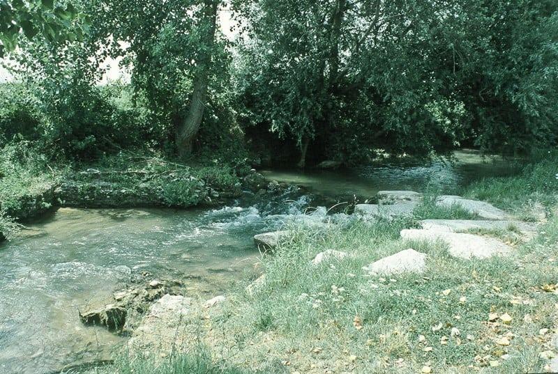 Krenides River in Philippi. photo from http://www.holylandphotos.org