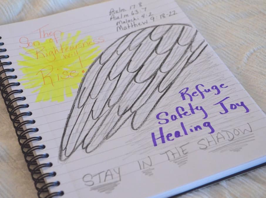 The Shadow of Wings: Family Bible Journaling Project