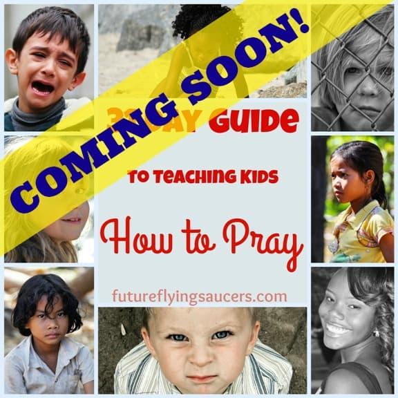 Teaching Kids to Pray