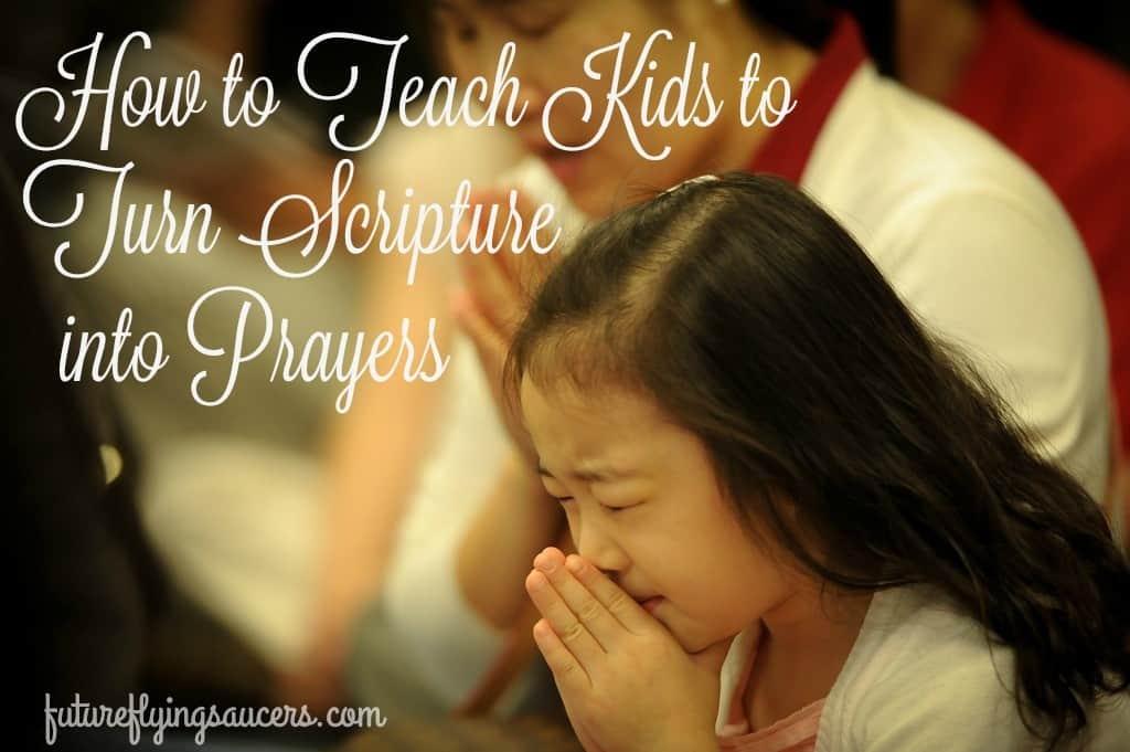 scripture to prayers
