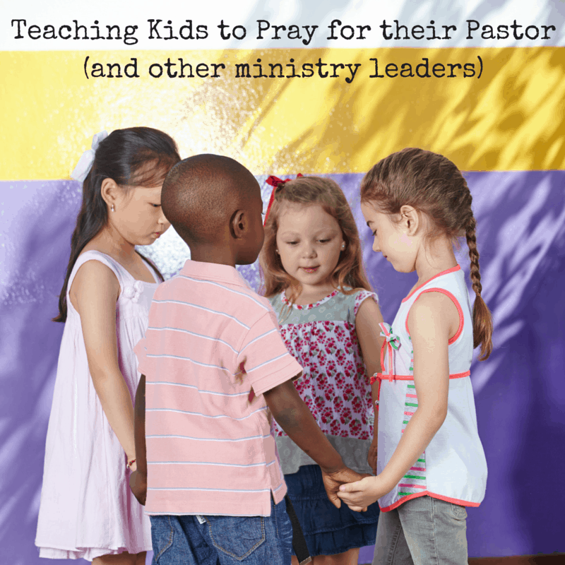Teaching Kids to Pray for Church Leaders