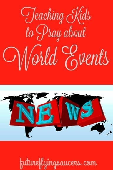 pray about world events