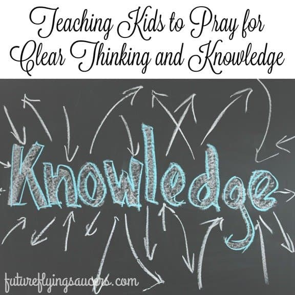 pray for knowledge