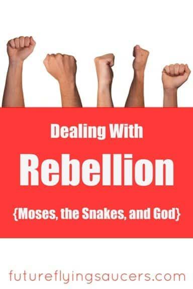 Moses, the snakes, and God