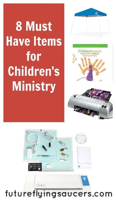 Must Have Items for children's ministry