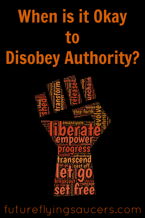 disobey authority