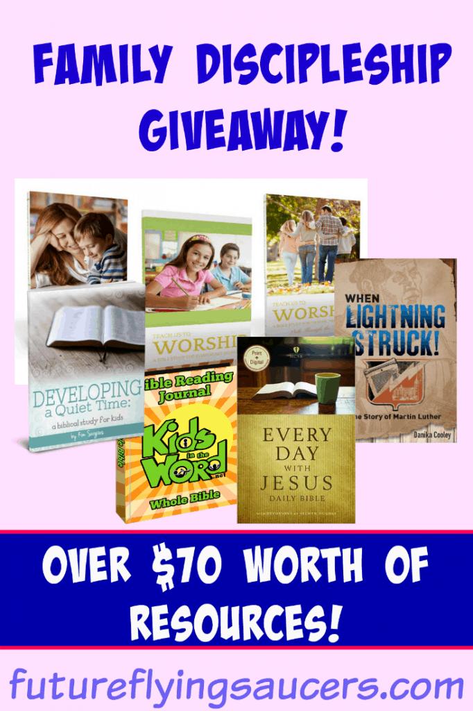 discipleship giveaway