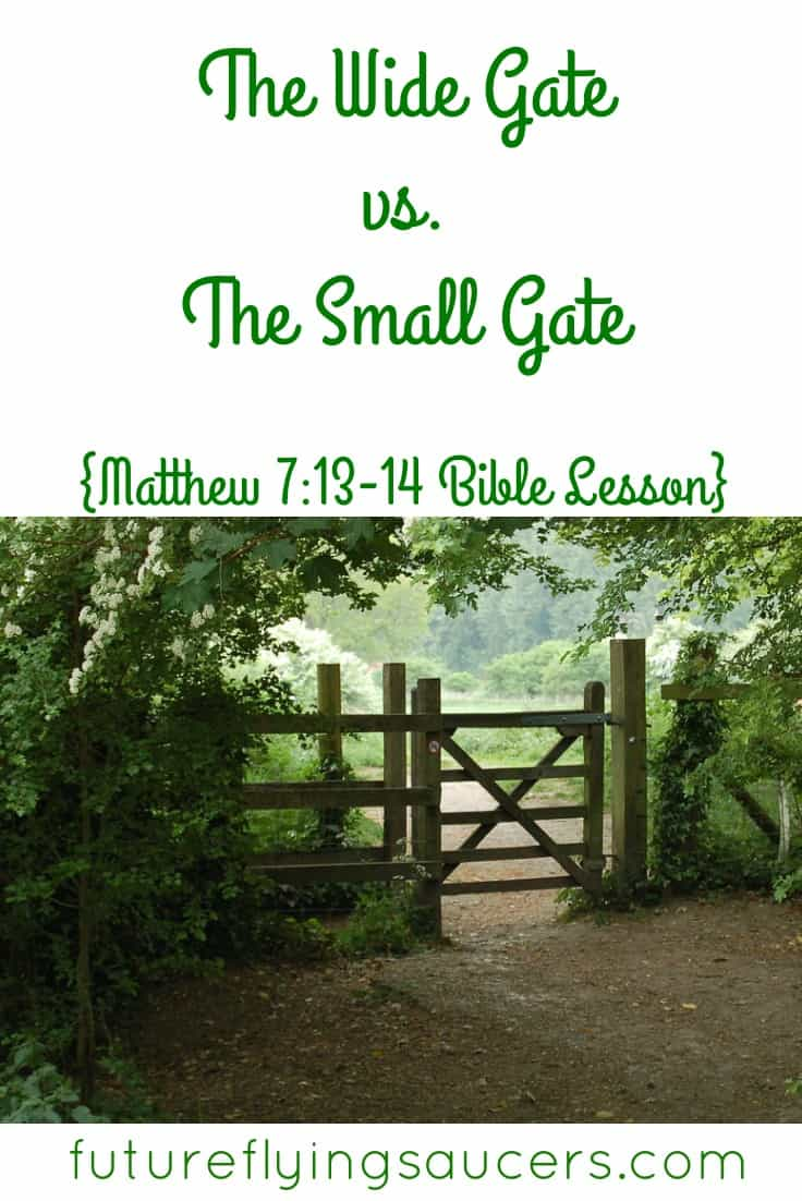 wide gate small gate