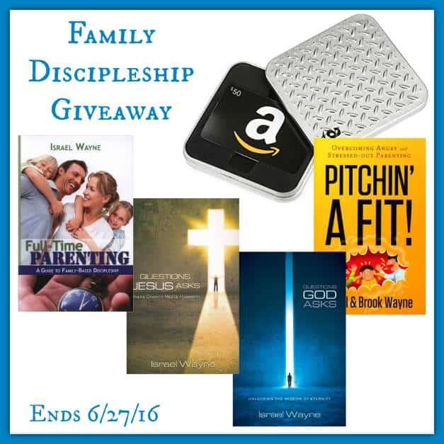 $100 Family Disicpleship Giveaway 4