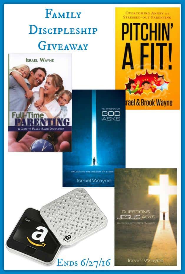 $100 Family Disicpleship Giveaway 2