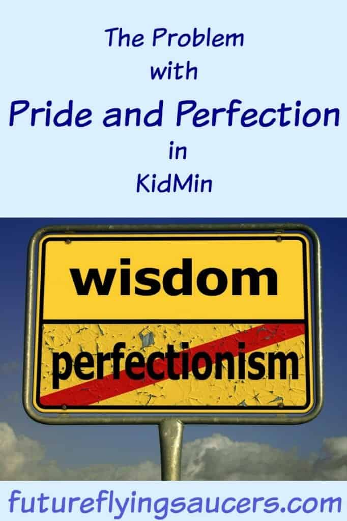 perfection in kidmin