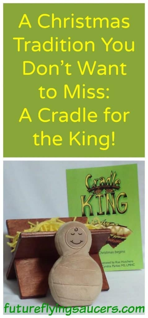 Christmas Tradition Cradle for the King