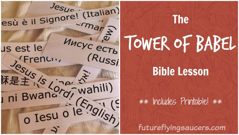tower of babel object lesson
