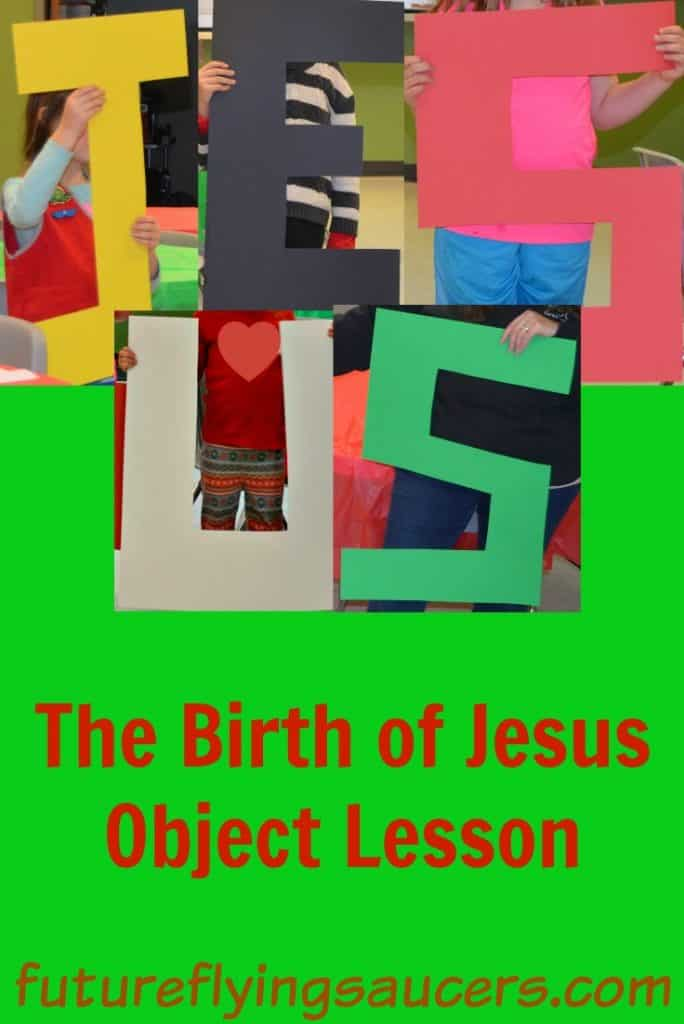 Birth of Jesus object lesson