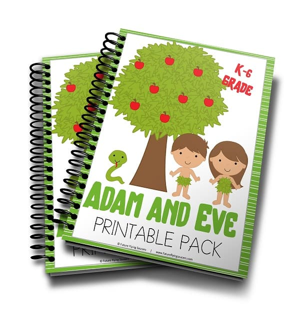 This fun Adam & Eve Printable Pack is perfect for children ages K-6th. It includes a variety of activity-filled pages to help children learn and remember the Bible story! :: www.thriftyhomeschoolers.com
