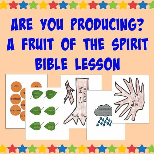 Fruit of the Spirit Object Lesson