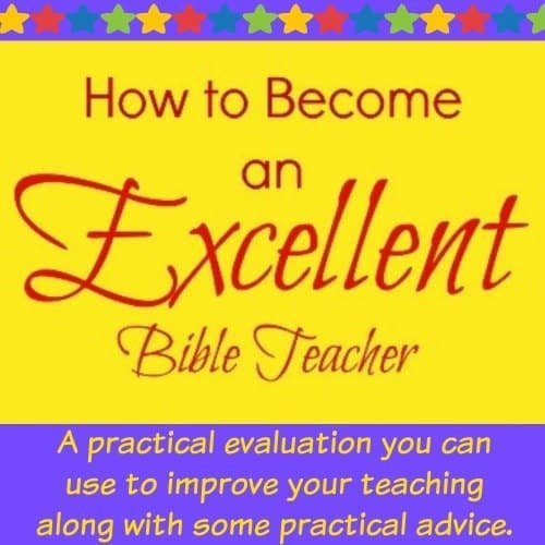 How to Become an Exellent Bible Teacher product image