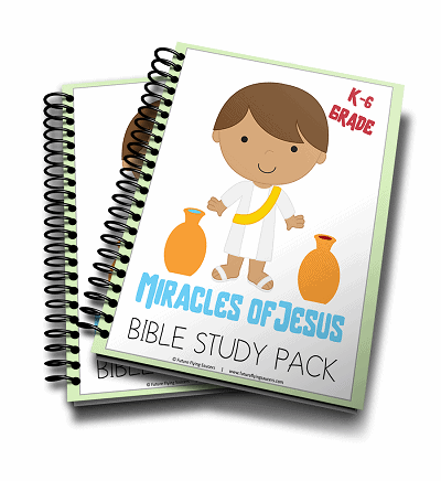Miracles of Jesus bible study pack