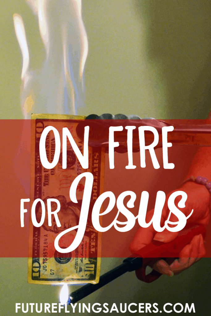 On Fire for Jesus ~ Acts 1 and 2 {Object Lesson}