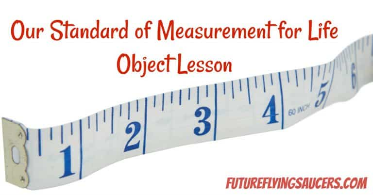 measuring object lesson