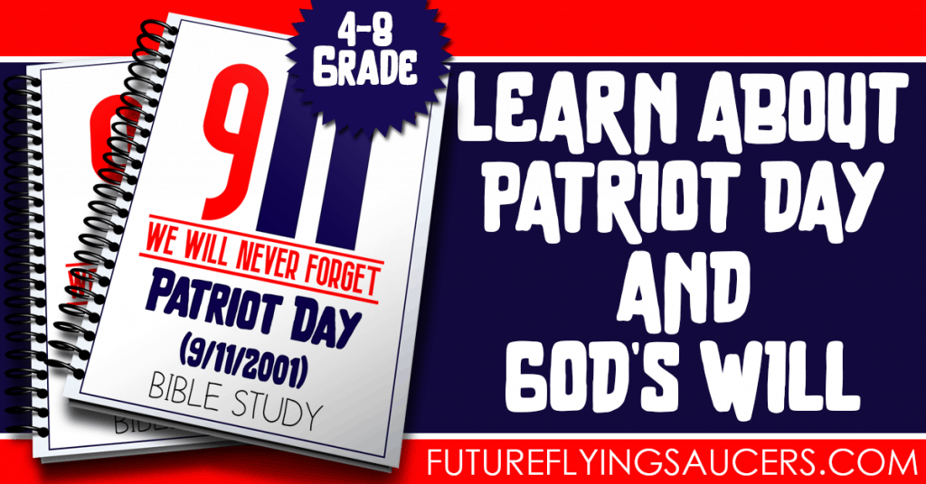 Use this 12-page Patriot Day (September 11) Bible Study Pack to talk about some difficult topics with children 4-8th grades.