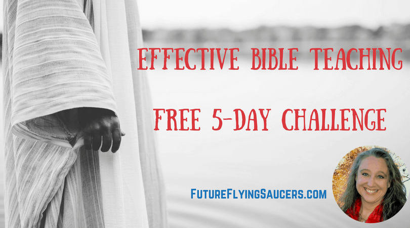 Becoming an Effective Bible Teacher Facebook Challenge